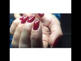 Коррекция нарощеных ногтей + покрытие Shellac
