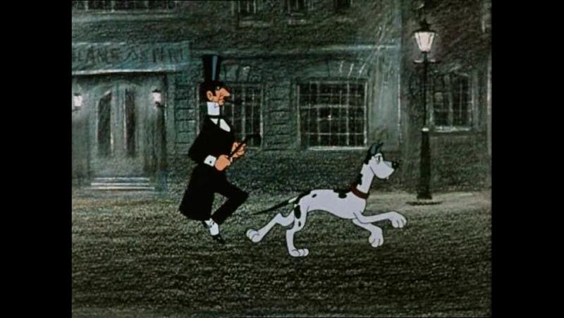Советские мультфильмы. Мы с Шерлоком Холмсом 1985 г.