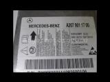 Блок управления AIR BAG Mercedes W204 C-class a2079011700 2079011700