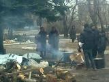 Дебальцево оркестр в честь освобождения города от укропов 28 февраля и 2015 год 2