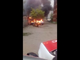 19.05.2017 на ул. 22 Апреля 8 ,сгорела машина