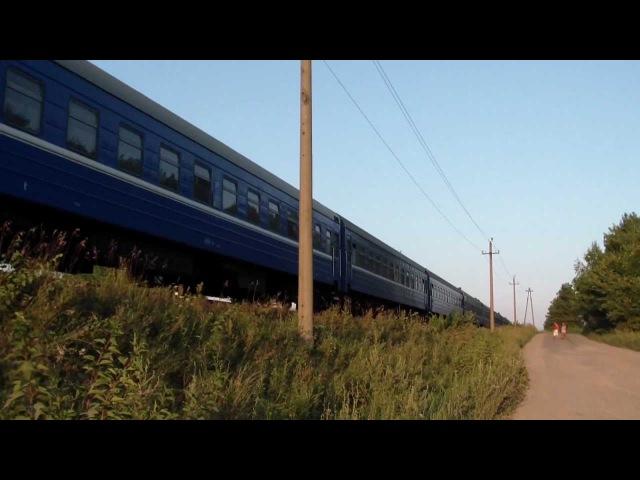 ТЭП70-503 прибывает на ст. Спас-Деменск