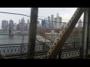 Crossing The Manhattan Bridge by Subway