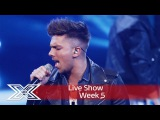 Matt Terry opens the show with Wham! Im Your Man Live Shows Week 5 The X Factor UK 2016