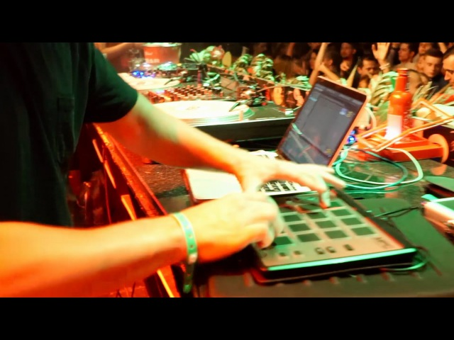 GROOVE DEALERS live at Gipsy 5.08.2016 [ILLYA 2.0 Akai MPC Element] EDM TRAP