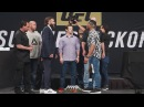 UFC Summer Kickoff Press Conference Face-Offs – MMA Fighting