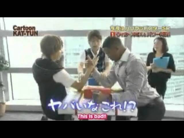 KAT-TUN and Will Smith (English Subs)