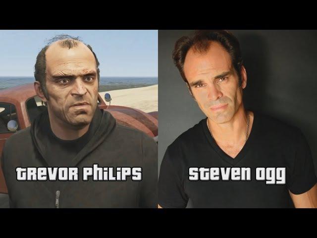Актёры озвучки GTA 5