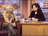 Shakira interview on the Rosie O'Donnell show