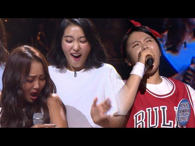 SISTARs fans singing 'Give It To Me' make SISTAR chills! 《Fantastic Duo》판타스틱 듀오 EP14