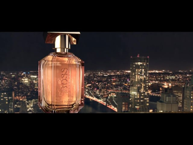 BOSS THE SCENT for her Official Video with Anna Ewers Th
