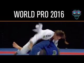 Nathiely Jesus vs Priscila Cerqueira - Abu Dhabi World Pro 2016