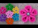 DIY Tutorial - How to Crochet Kanzashi Flower - Flowers of Japan