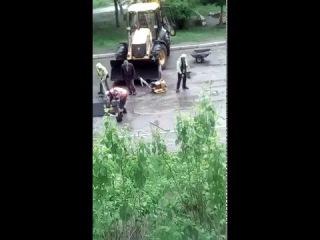 +18МАТ. Как делаются дороги в Украине - Научное посибие. г. #Харьков