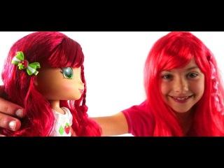 Игры для девочек: Куклы - ШАРЛОТТА ЗЕМЛЯНИЧКА. С Днем рожденья, Поля! Видео для детей