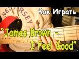 Разбор Песни James Brown - I Feel Good (I Got You) Как Играть на Гитаре I Got You (+Басовая Партия)