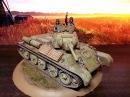 T- 34- 76 Soviet medium tank Model 1943 Final stage. Советский средний танк Т-34-76