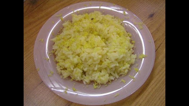 Пикантный рис в апельсиновом соке - видео рецепт