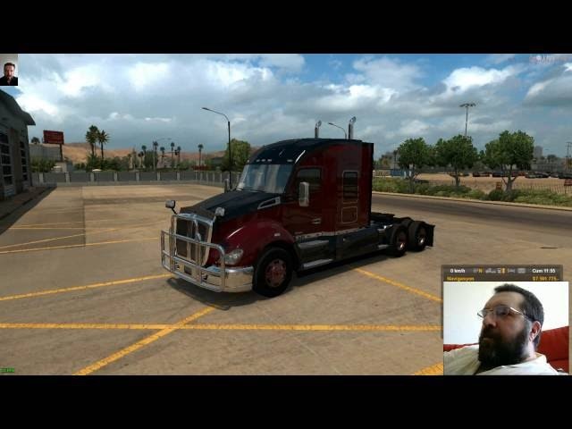 ATS Multiplayer Kenworth ile Las Vegas(NV) - Flagstaff(AZ)