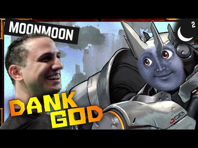 WORLD'S DANKEST PLAYER1 MOONMOON Moments Montage | Overwatch Best of MoonMoon Tank God