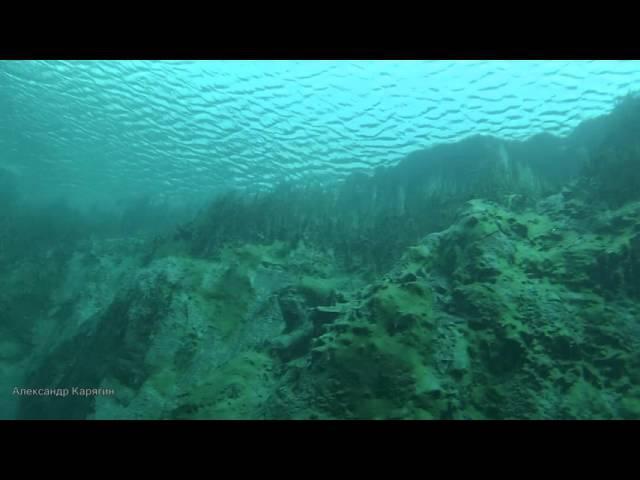 Загадочное Голубое озеро Samara Russia