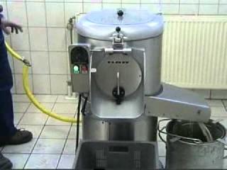 Картофелечистка Flottwerk с корундовой системой очистки.avi