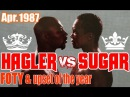 Sugar Ray Leonard vs Marvin Hagler 35th of 40 Apr. 1987 - IN THEIR OWN WORDS