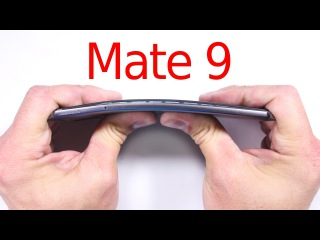Mate 9 Durability Test - Bend Test, Scratch and BURN test