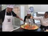 Mojo Rawley and Natalya make paella in Valencia, Spain