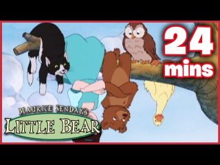 Kids' English | LIttle Bear | Little Bear's Tooth / Little Red Riding ...