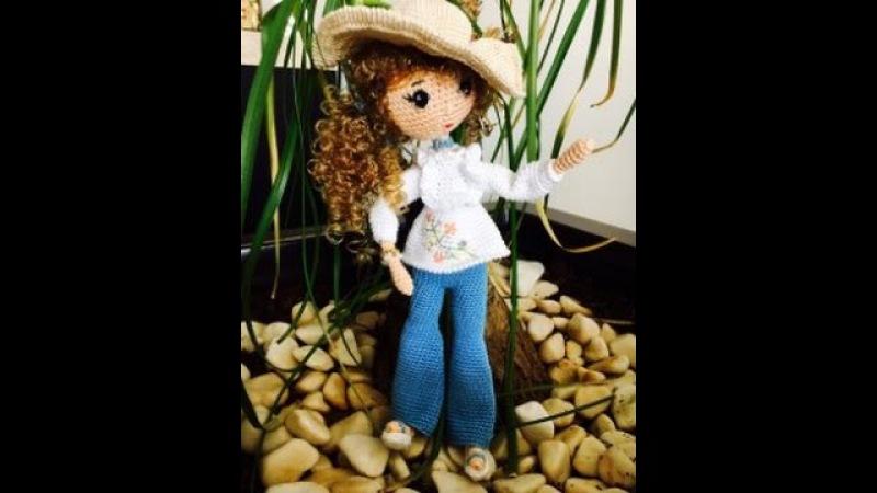 Como tejer muñeca Liliana en Amigurumi By Petus Ochoa tutoríal SEGUNDA PARTE