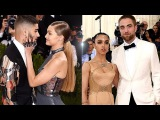 'Met Gala 2016' Most LOVED-Up Couples | Zayn Malik & Gigi Hadid, Kim & Kanye | Lehren Hollywood