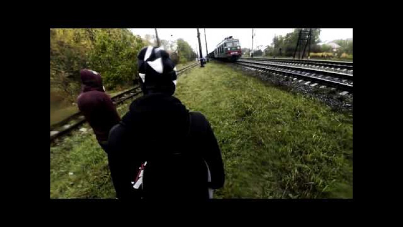 Trainhop around the Lviv NO LIMITS