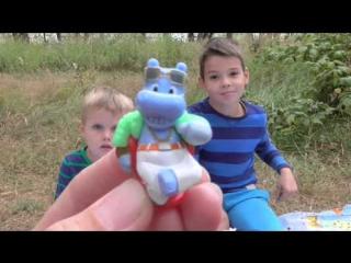 Спанч Боб Растишка домик Растишки Веселые Бегемотики сюрпризы с игрушками