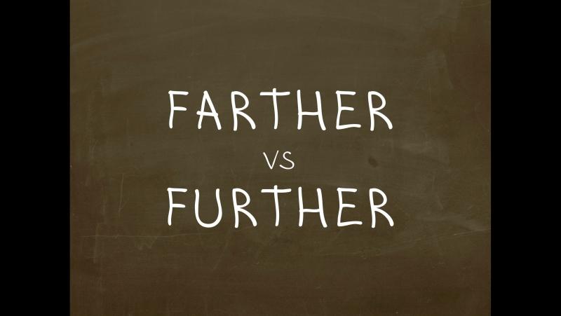 Какая разница между Farther и Further? Простой Английский