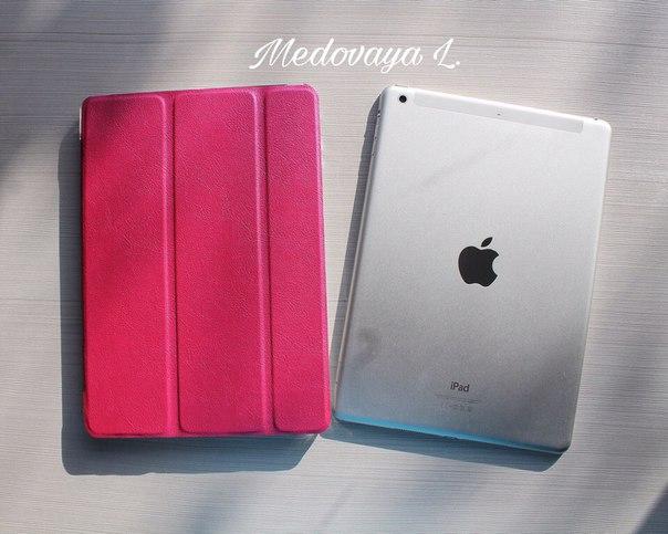 Розовый чехол на iPad Air Доставка заняла всего 14 дней️