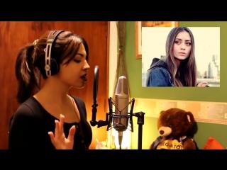 Очень талантливая девушка, поющая различными голосами знаменитостей!