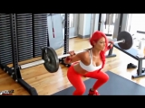EVA MARIE - Red Hair Girl with the Perfect Body (FitABS Fitness Motivation)