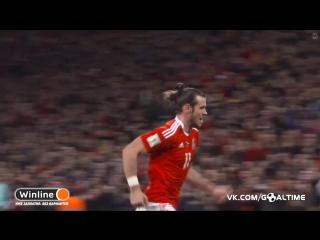Уэльс - Сербия 1:0. Гарет Бэйл