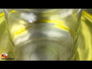 Как разрезать стеклянную бутылку банку идеально ровно маслом в домашних условиях