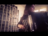 Netta Skog (Digital accordion player of Finnish folk-metal band ENSIFERUM) - Tree Of Ages (Amorphis Cover)