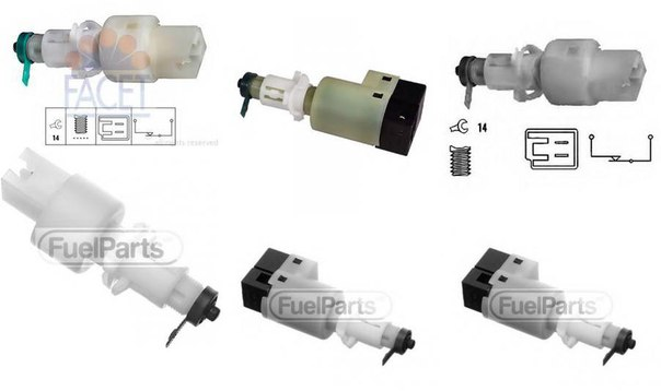 Выключатель фонаря сигнала торможения для ALFA ROMEO 145 (930)