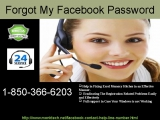 I Recover Facebook password, and then I call on 1-850-366-6203&amp flush away all my