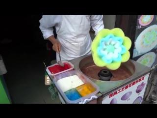 Продавец сладкой ваты 80 уровня! Мороженное - цветок. Новинка!!!