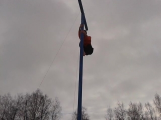 Способ залезть на столб от Белоножко Влада