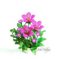 Цветы из бисера в контакте