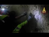 Чудесное спасение собаки из-под завалов в Италии