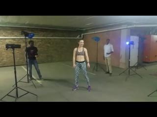 Юлианна Разумова  Юлия fitness shoot with Brandon for Life magazine