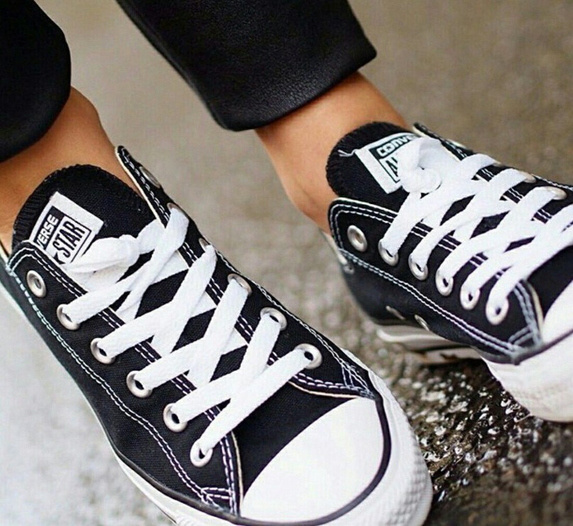 Кеды Converse Ox Black