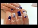 Лунный Маникюр! Дизайн Гель-Краской! Маникюр с Бульонками! Nail Art Designs (Caviar Nails DIY)